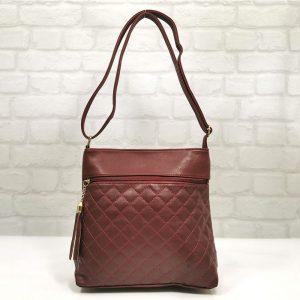 Чанта Еврика 64-201СН червена с черно