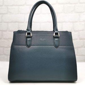 Дамска чанта David Jones в електриково синьо - EvrikaShop