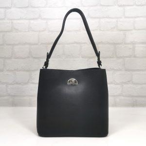 Дамска стилна чанта David Jones в черно - EvrikaShop