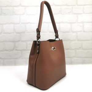 Дамска чанта David Jones в кафяво - EvrikaShop