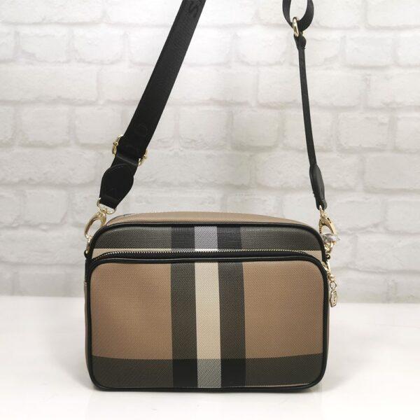 Дамска чанта Silver Polo кафява гама - EvrikaShop