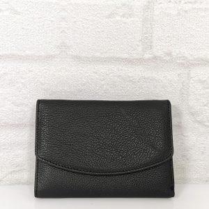 Дамско портмоне от естествена кожа средна големина - EvrikaShop
