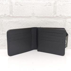 Стилен мъжки портфейл от еко кожа черен - EvrikaShop