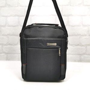 Мъжка чанта с черна промазka - онлайн магазин EvrikaShop