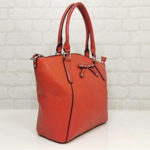 Дамска ежедневна чанта Мария С червена - EvrikaShop