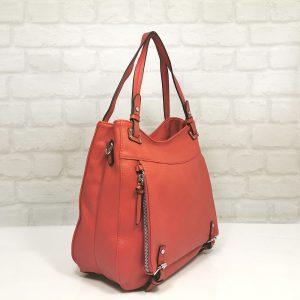 Ежедневна дамска чанта Мария С червена - EvrikaShop