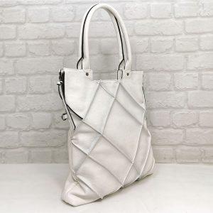 Чанта Мария бяла ,директен внос от Италия - EvrikaShop