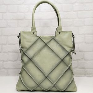 Чанта Мария зелена спортно-елегантна - EvrikaShop