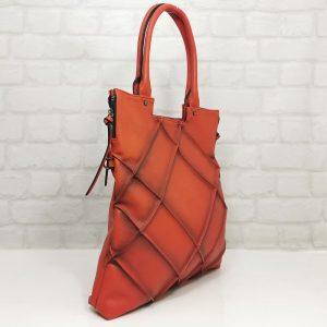Чанта Мария С червена , директен внос от Италия - EvrikaShop