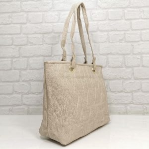 Дамска чанта Еврика светло бежова - EvrikaShop