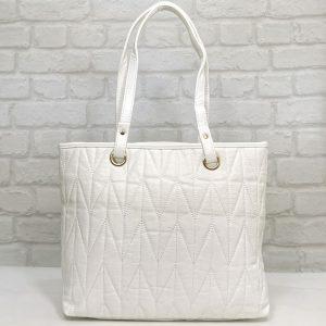 Дамска чанта Еврика бяла от еко кожа - EvrikaShop
