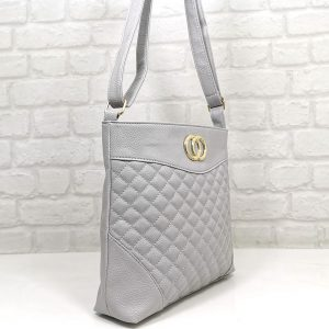 Чанта Еврика сива, средна по големина - EvrikaShop