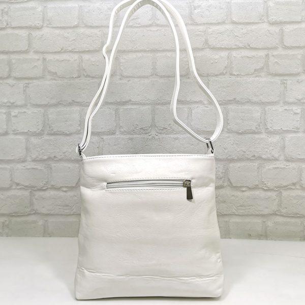 Дамска чанта Еврика бяла, малка - EvrikaShop