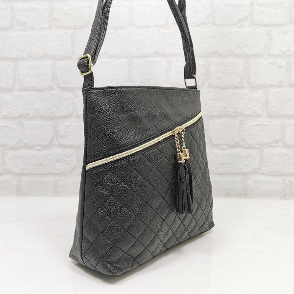 Дамска чанта Еврика черна малка - EvrikaShop