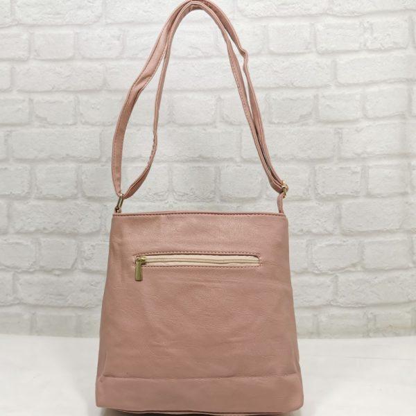 Дамска чанта Еврика розова, малка - EvrikaShop