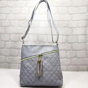 Спортно-елегантна чанта Еврика синя, малка - EvrikaShop
