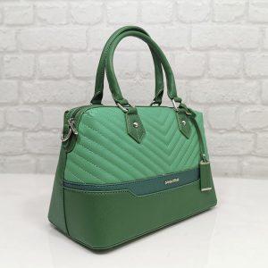 Дамска чанта David Jones зелена малка - EvrikaShop