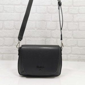 Спортно-елегантна чанта David Jones черна, малка - EvrikaShop