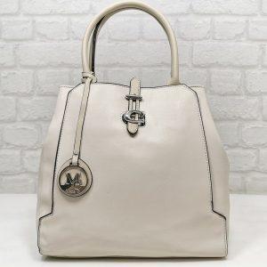 Дамска чанта Мария С екрю от Италия - EvrikaShop