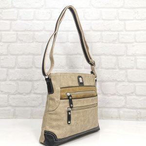 Дамска чанта Еврика бежова гама - EvrikaShop