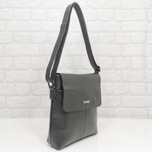 Мъжка чанта 101010КН черна от естествена кожа