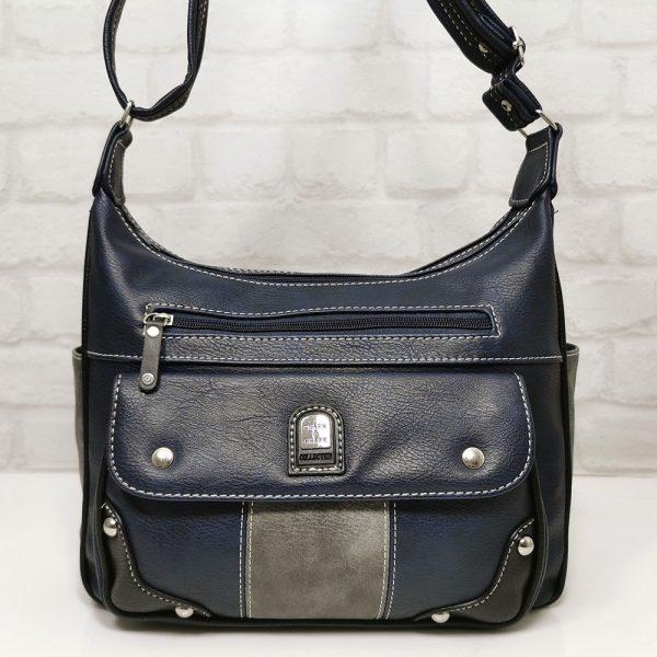 Чанта Еврика 56278ТС тъмно синя