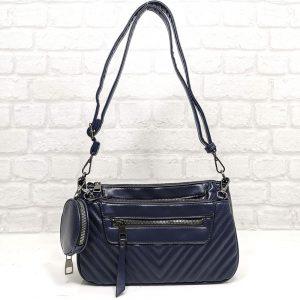Чанта Мария С 351257ТС тъмно синя