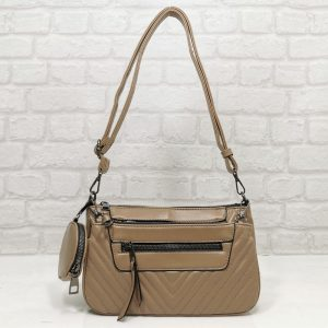 Чанта Мария С 351257БЕ бежова, малка