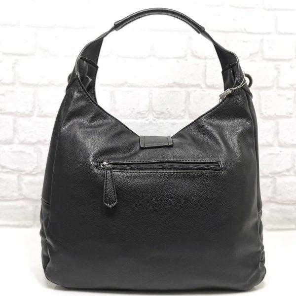 Ежедневна чанта David Jones черна - EvrikaShop