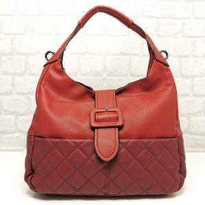 Дамска ежедневна чанта David Jones червена - EvrikaShop