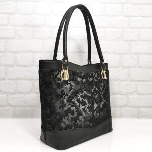 Чанта Еврика 552Н черна, лъскава Дамски чанти