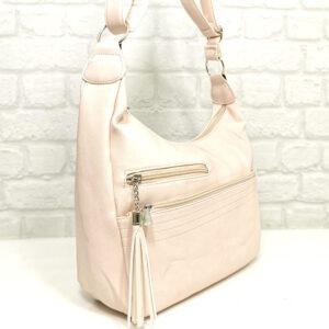Чанта Еврика 64-153РО бледо розова Дамски чанти