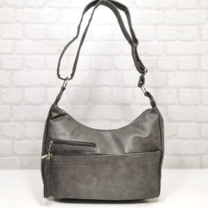 Чанта Еврика 64-153СВ сива Дамски чанти