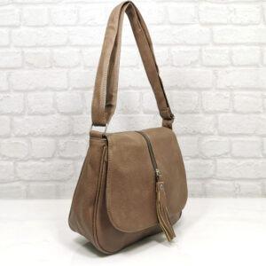 Чанта Еврика 64-211БЕ бежова Дамски чанти