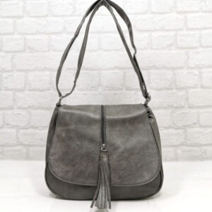 Чанта Еврика 64-211СВ сива Дамски чанти
