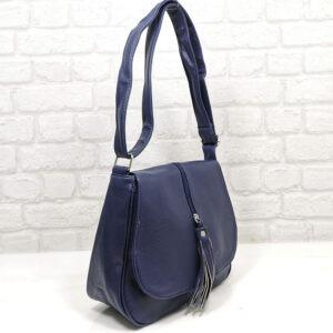 Чанта Еврика 64-211ТС тъмно синя Дамски чанти