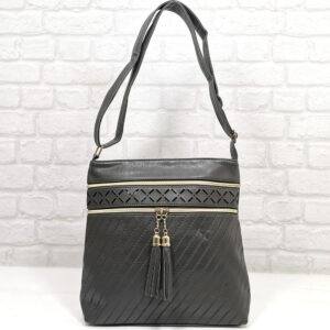 Чанта Еврика 64-212СВ тъмно сива Дамски чанти
