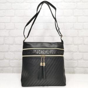 Чанта Еврика 64-212Н черна Дамски чанти