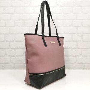 Чанта Еврика 64-216РО розова с чено Дамски чанти