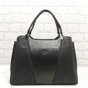 Чанта Еврика 780Н черна Дамски чанти